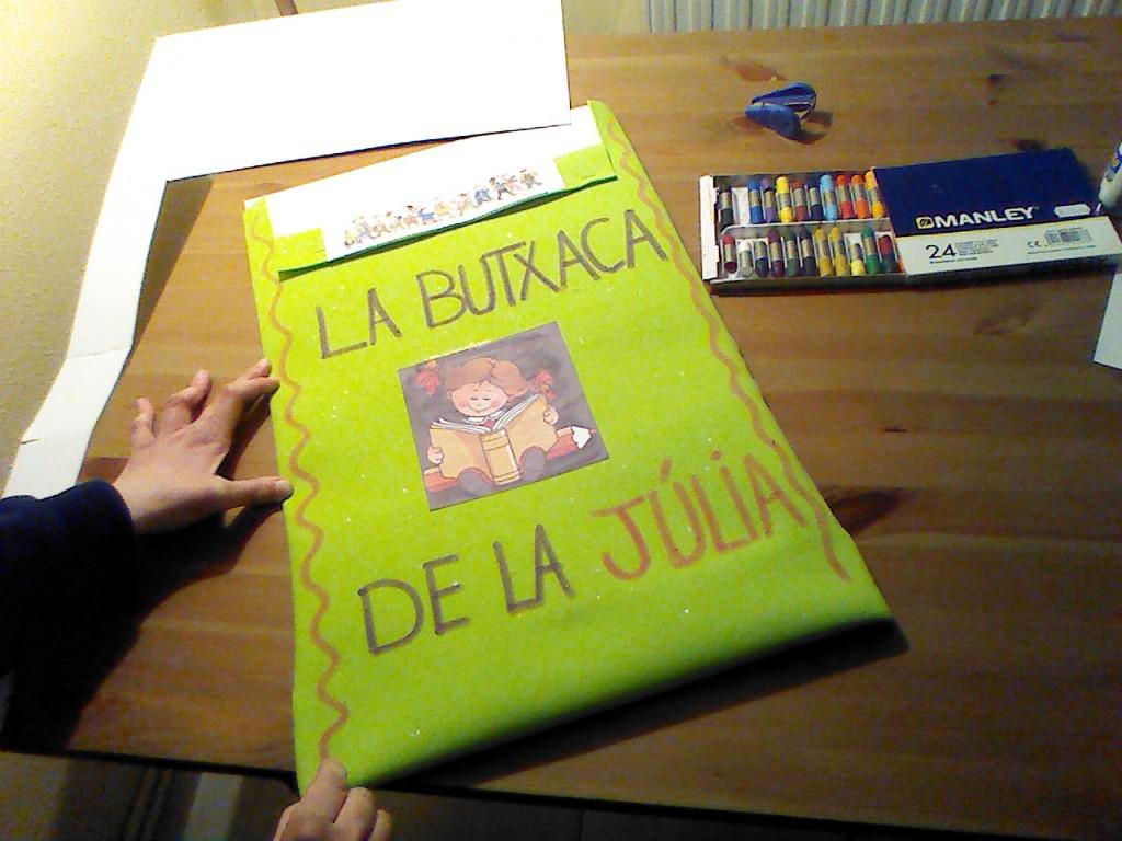 Guarda folios para los niños