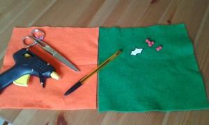 Materiales para hacer los porta cubiertos