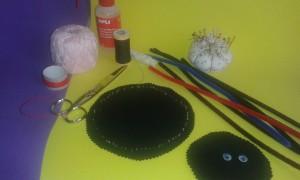 Cómo hacer una araña: materiales necesarios