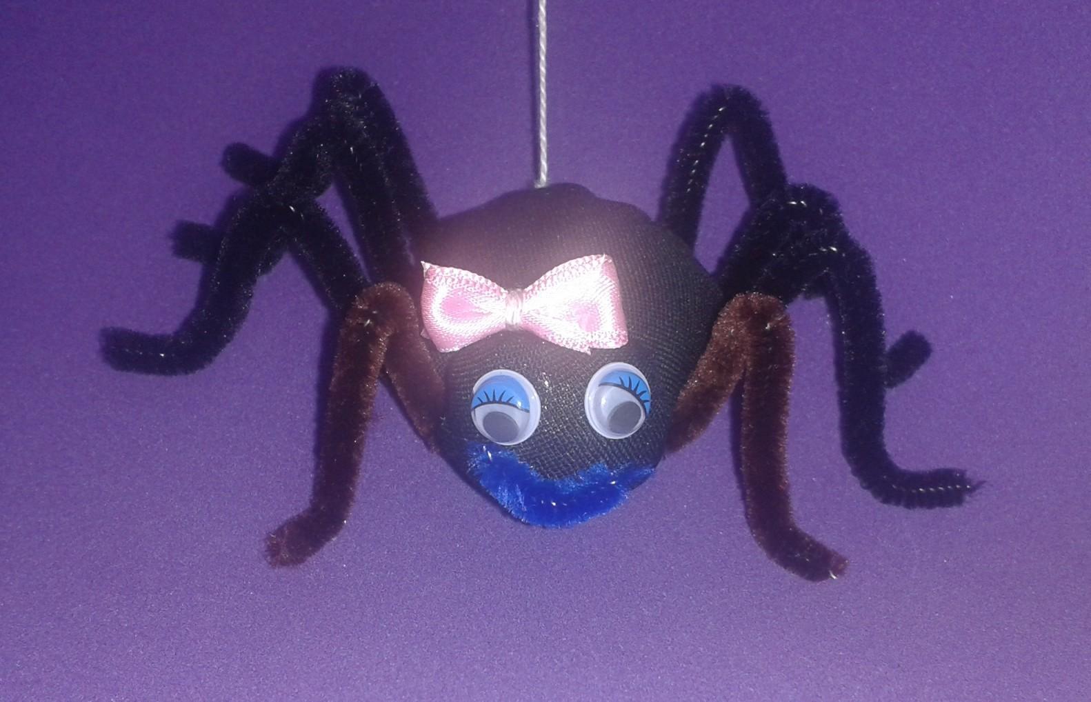 Una araña muy bonita
