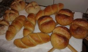 Pan de diversas formas