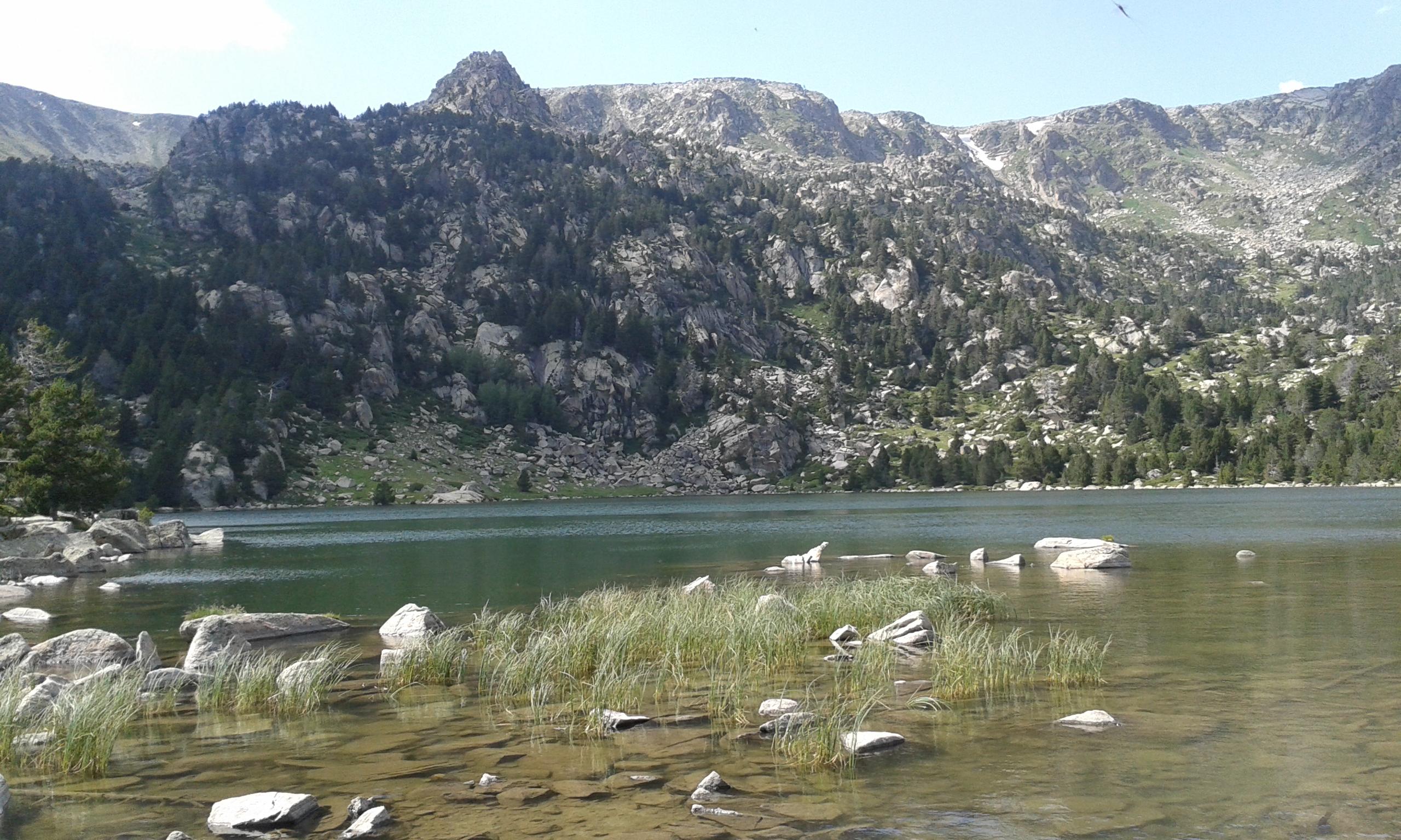 Salidas con niños para disfrutar de un lago en plena naturaleza
