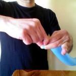 Cómo hacer el nudo, parte 4