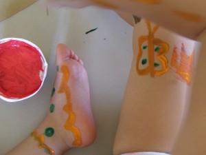 Creatividad con pinturas para los más pequeños