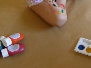La creatividad infantil en acción