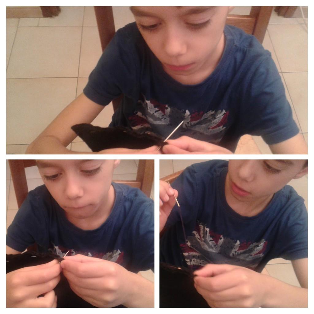 Beneficios de coser a mano