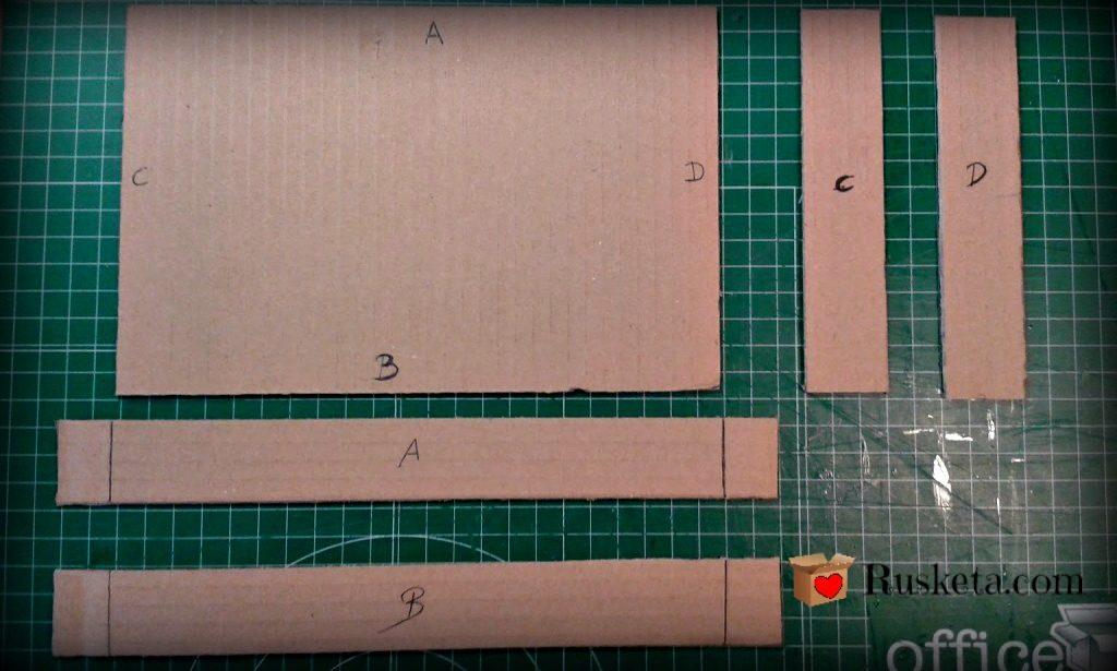 Marcar y cortar las piezas
