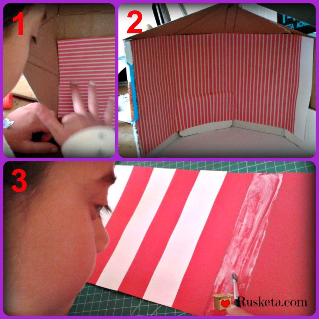 Haz un circo para ni os con una caja de cart n for Como hacer un criadero de carpas