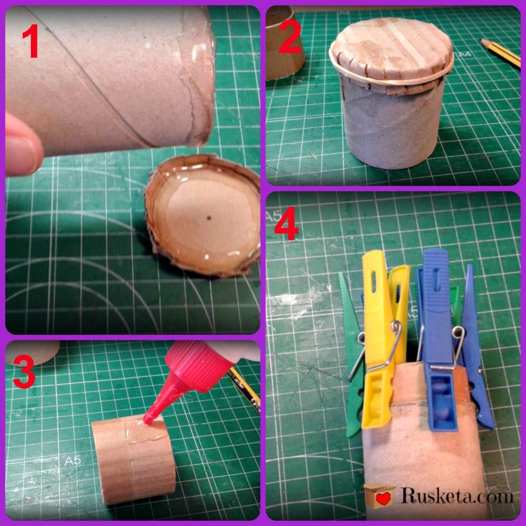 Cómo ensamblar las piezas del guarda agujas