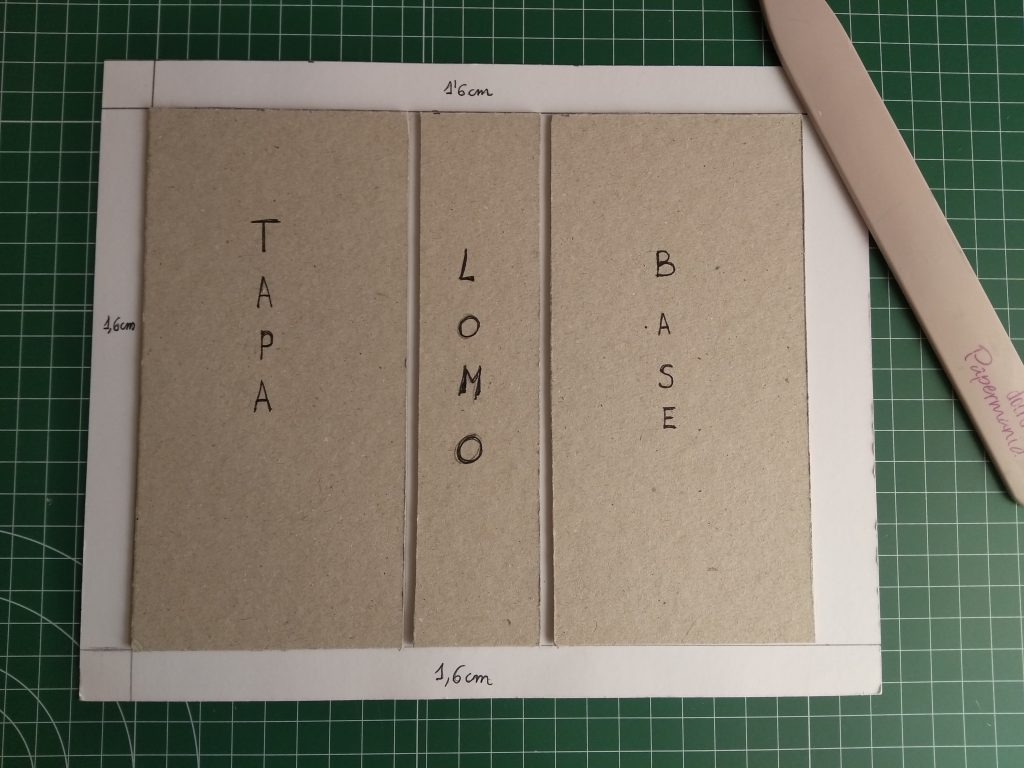 Formando la caja libro