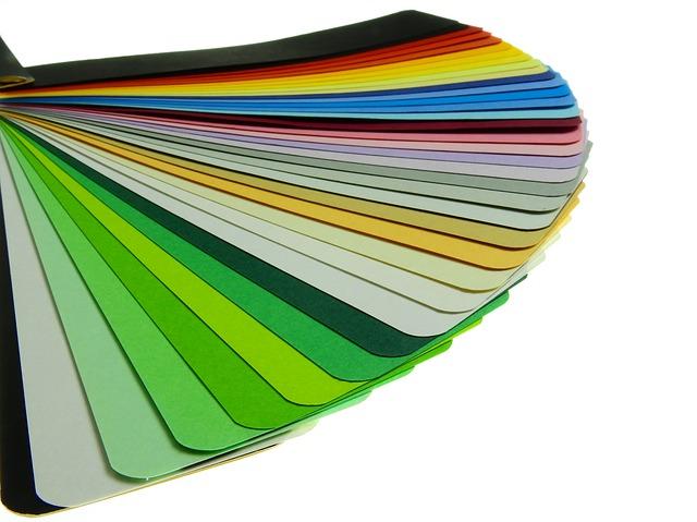 Cartulinas de diversos colores