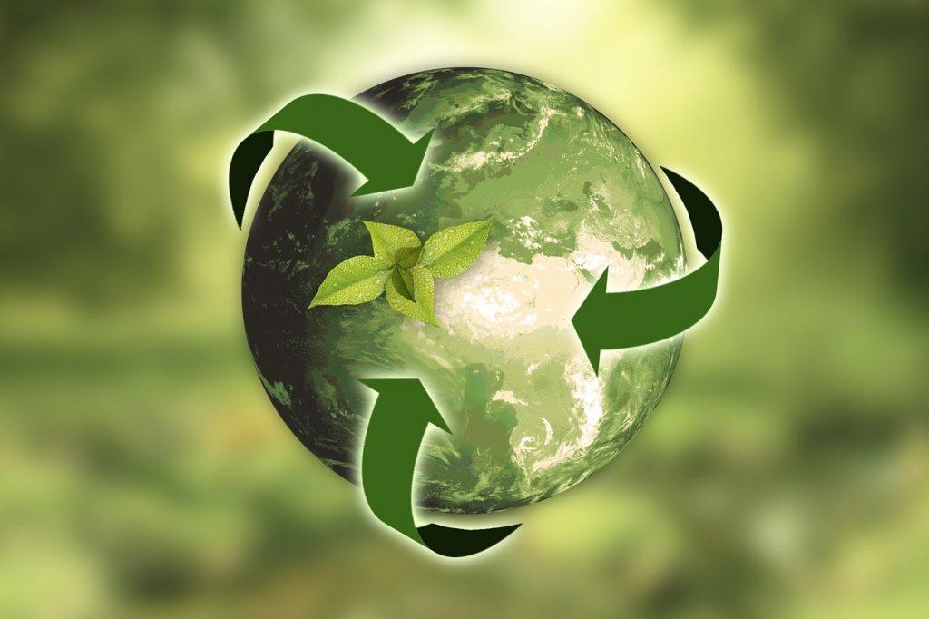 El planeta Tierra como símbolo de la sostenibilidad