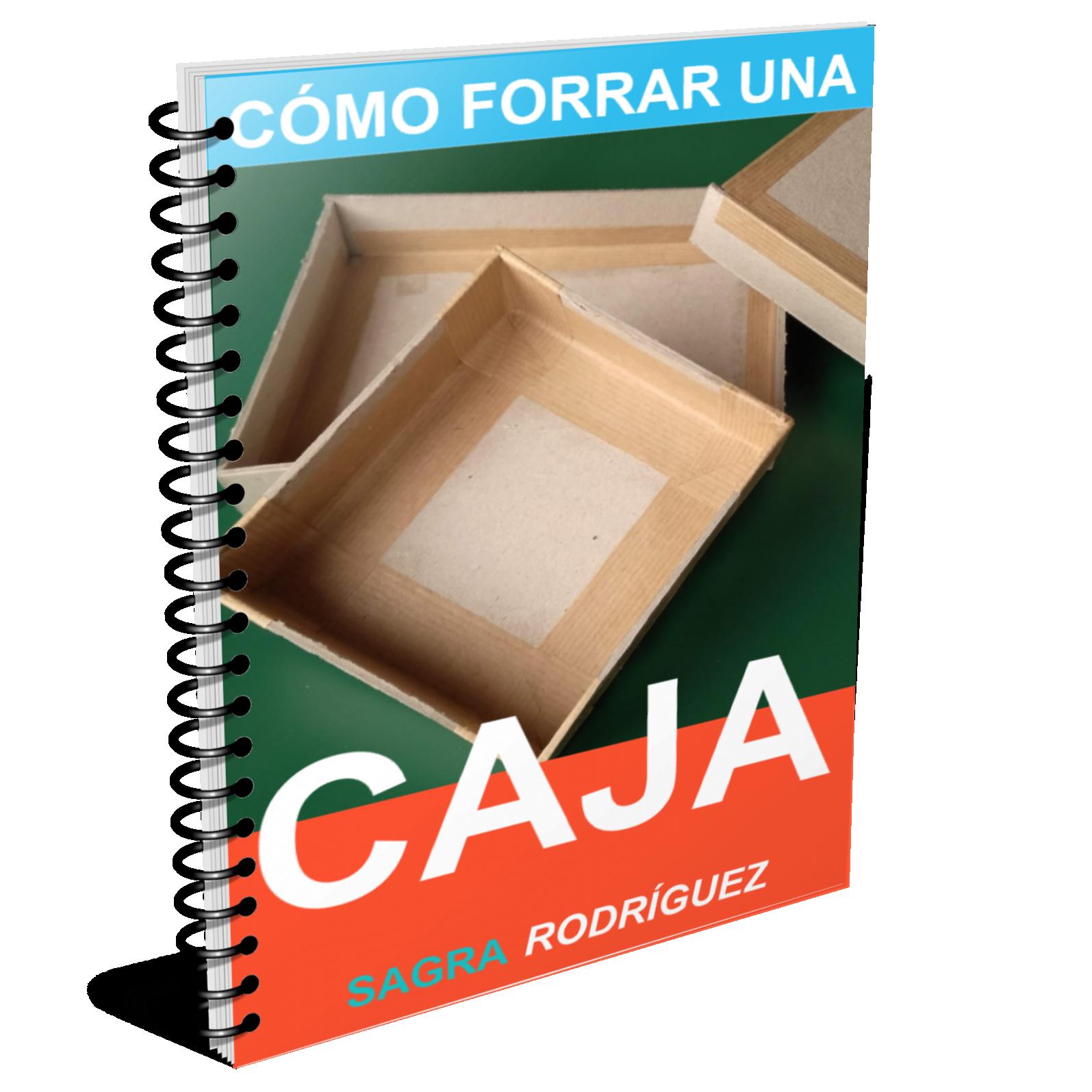 Ebook para aprender a forrar una caja según las técnicas del cartonaje