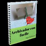 Ebook del archivador con fuelle. Cartonaje paso a paso