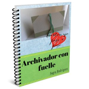 Archivador con fuelle tutorial de cartonaje