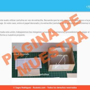 Página de muestra 3 del ebook Cómo forrar una caja