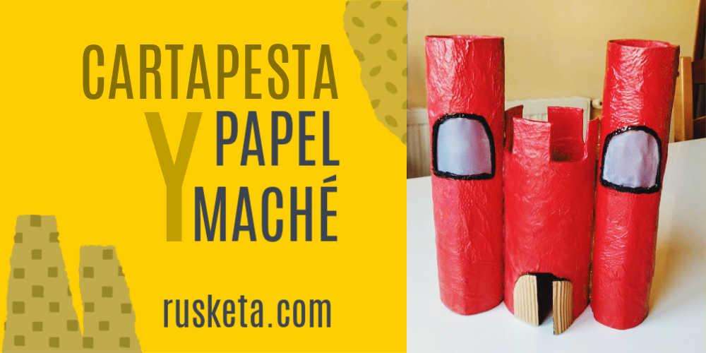 Presentación del artículo Cartapesta y papel maché