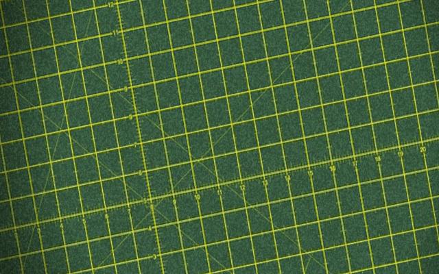 Base con retícula para cortar con el cutter
